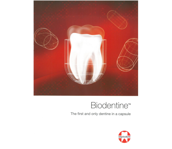 Biodentine™: full restoration in one session now proven