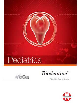 Biodentine pediatrics brochure